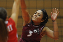 Akeyta Mayes helped IU East's volleyball team to a season to remember in 2009.