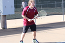 Zach Smith played No. 5 singles for IU East