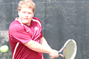 Zach Smith won at No. 4 singles.