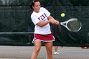 Kristi Henderson played No. 2 doubles and No. 6 singles.