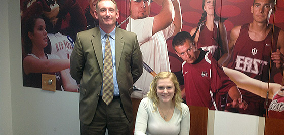Ciara Cappas of Richmond will run for IU East.