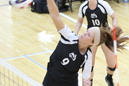 Sarah Shilling put away 21 kills in two matches.